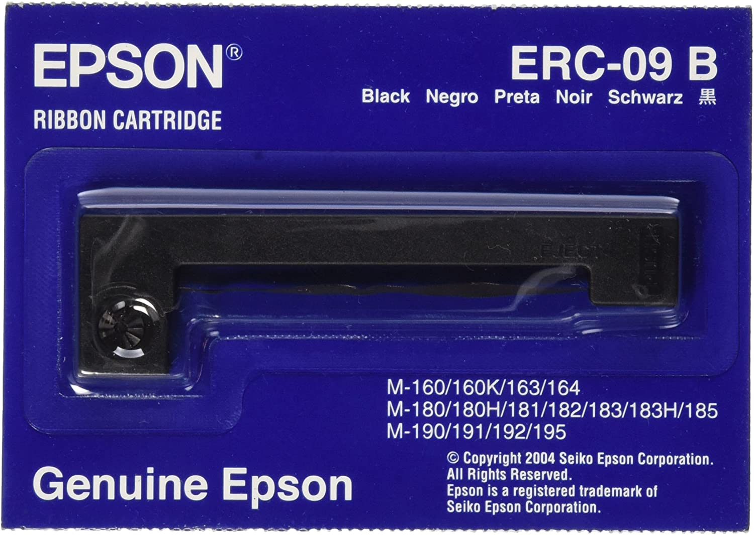 Six Epson ERC09 Compatible Purple POS Printer Ribbons ERC-09 ERC22 M185 M190