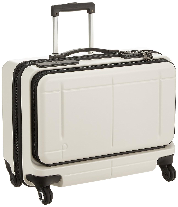 [プロテカ] スーツケース 日本製 マックスパスビズ スマート スマートフォンバッテリー搭載 サイレントキャスター 機内持込可 保証付 37L 49cm 4.2kg 02773 B079XYLX5P ウォームグレー ウォームグレー