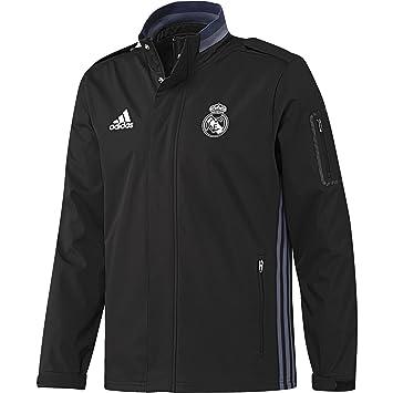 adidas Real Madrid CF Trav Chaqueta, Hombre: Amazon.es ...