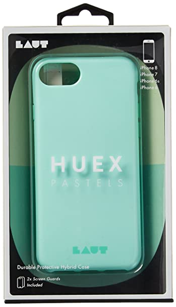 info for a5e71 64ff1 LAUT - HUEX PASTELS Case for iPhone 8 & iPhone 7 & iPhone 6s/6 (Spearmint)
