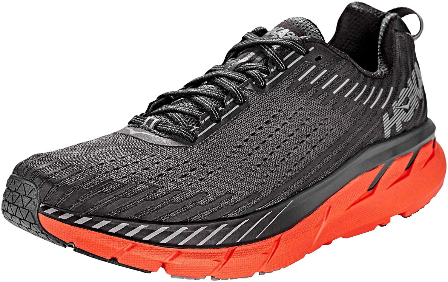 Hoka One One Clifton 5 Running schuhe Men Men Men Dark Shadow Spicy Orange 2019 Laufsport Schuhe B07N5Z74Y3  7c38aa