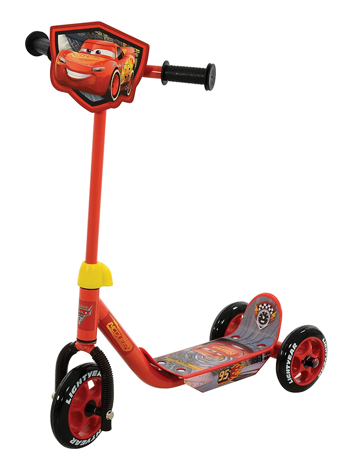 Amazon.com: Disney Cars 3 my first Tri Scooter m14362: Toys ...
