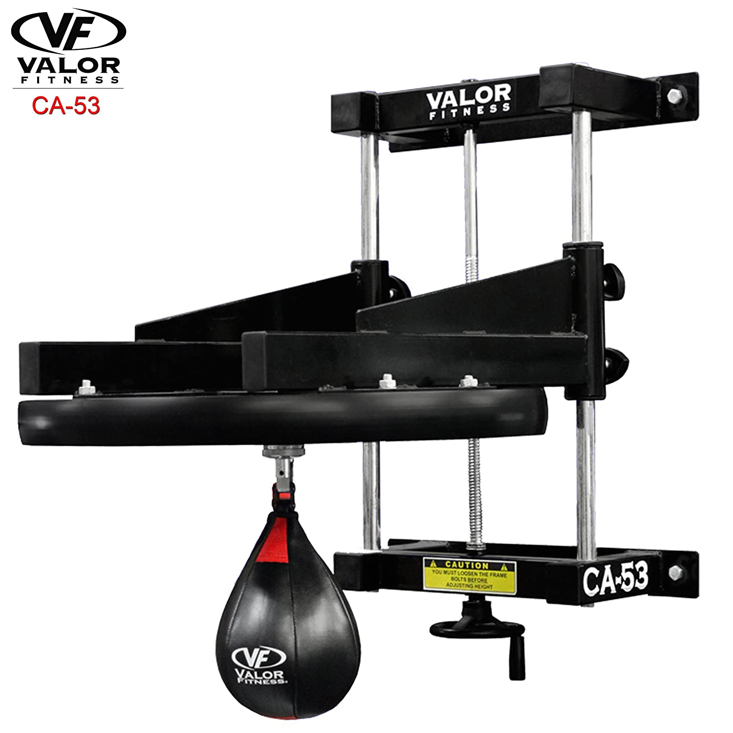 0e40a13f279 Amazon.com   Valor Fitness CA-53 Boxing Speed Bag Platform with Bag - 2 in.  Platform   Speed Punching Bag Platforms   Sports   Outdoors