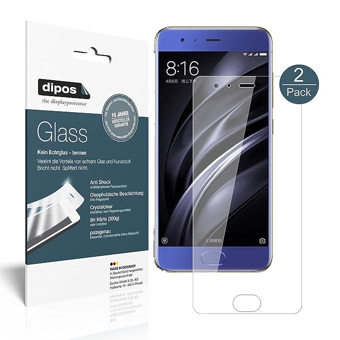2 opinioni per Xiaomi Mi6 Pellicola Protettiva- 2x dipos Glass Protezione Vetro Flessibile 9H