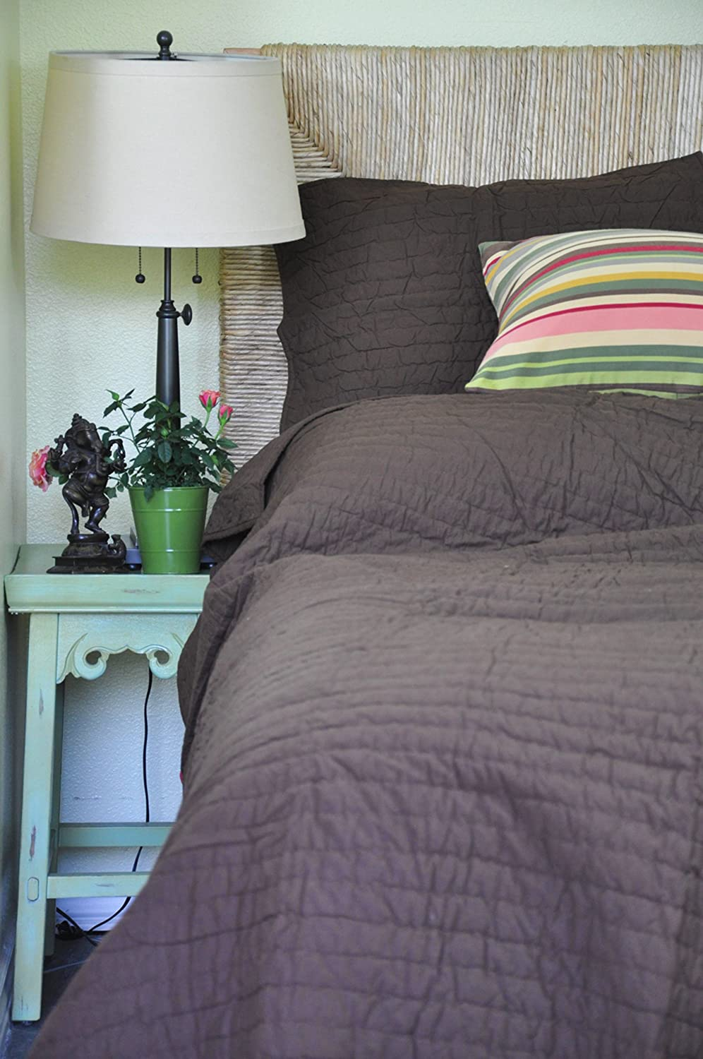 Be-you-tiful Home Basecamp Quilt Set, Gray, Queen