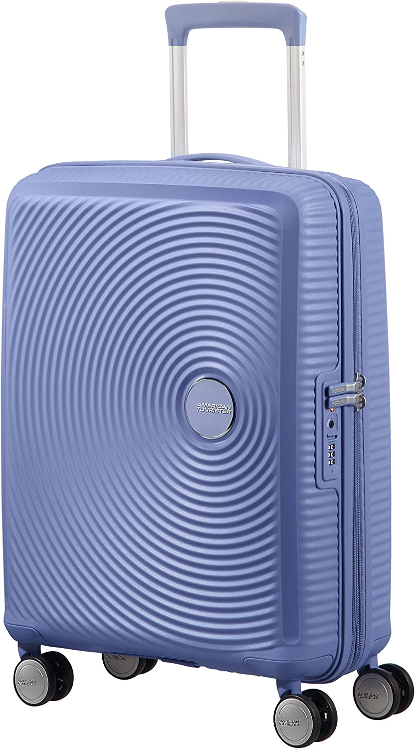 American Tourister - Soundbox Spinner 55/20 Expansible 35,5/41 L - 2,6 KG Denim Blue