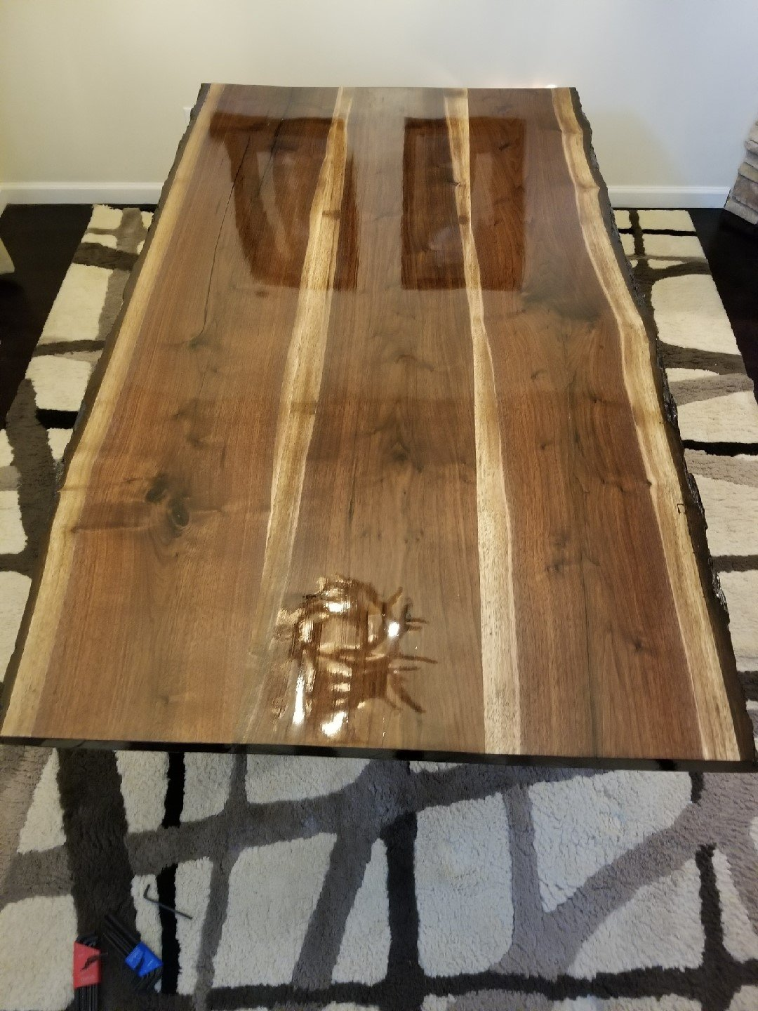 Amazon.com: Hand Built Black Walnut Kitchen Table: Handmade