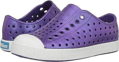 3 Medium US Little Kid Malibu Pink//Shell White//Galaxy Iridescent Native Kids Iridescent Jefferson Water Proof Shoes