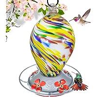 Grateful Gnome – Comedero de colibrí, 28oz, estilo de huevo