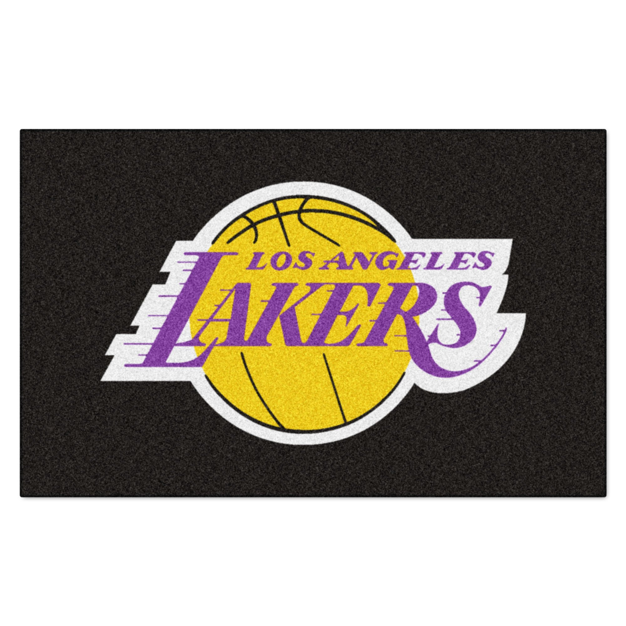 FANMATS NBA Los Angeles Lakers Nylon Face Ultimat Rug