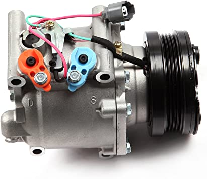NEW A//C Compressor w//Clutch Honda Civic /& Civic Del Sol