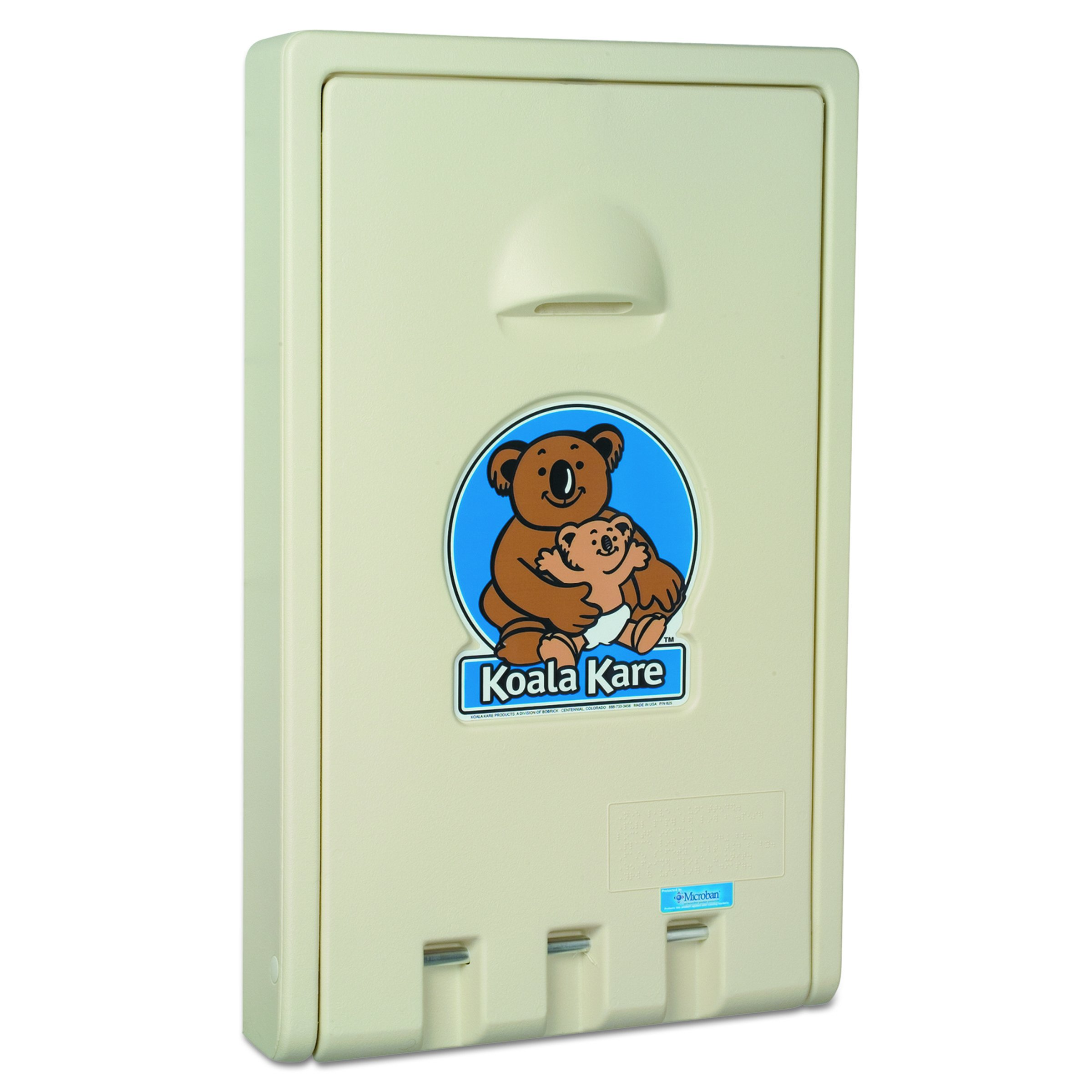 Koala Kare KB10100 Standard Vertical Baby Changing Station, Cream