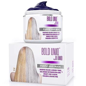 Blonde haare lila spitzen