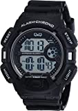 Q&Q Digital Black Dial Men's Watch - M132J001Y