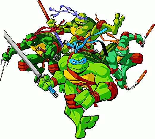 Teenage Mutant Ninja Turtles Cartoon Alta Calidad De Coche ...