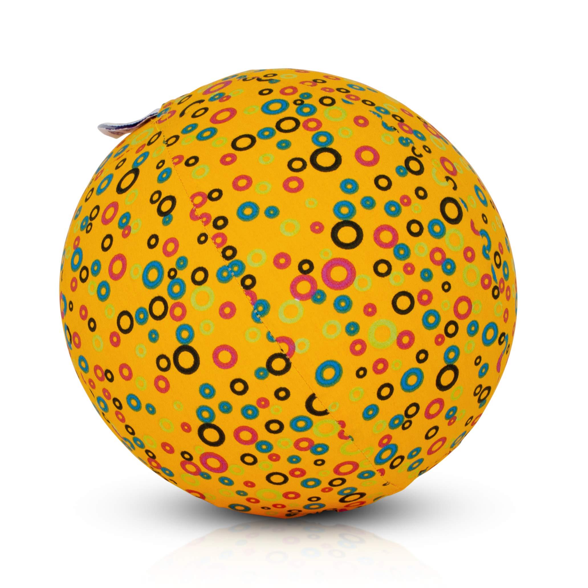 BUBABLOON BB-369 Circles Yellow