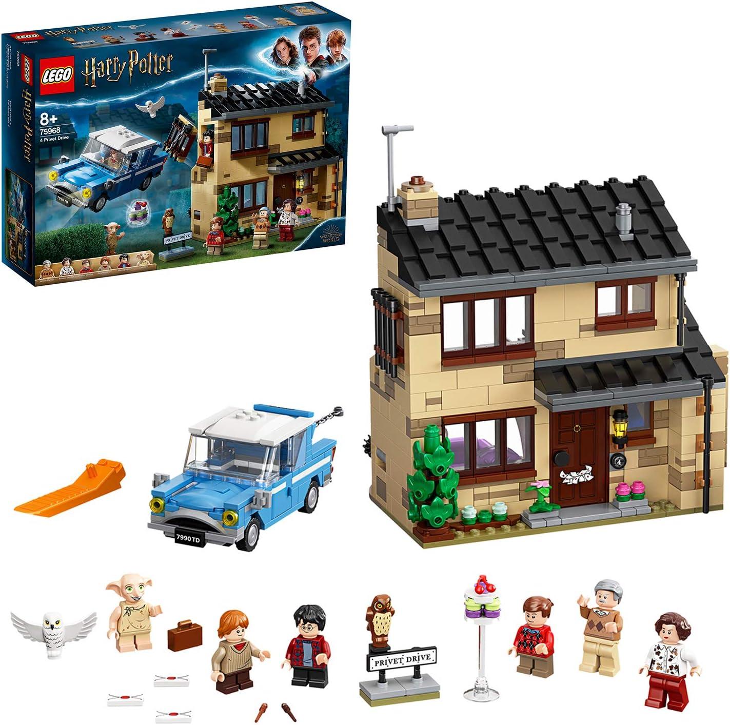 OHNE FIGUREN 75968 LEGO HARRY POTTER HAUS Ligusterweg 4