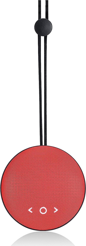 Altec Lansing Drop MAX (AL-SNDBA12-001.14) - Altavoz portátil Bluetooth, Rojo