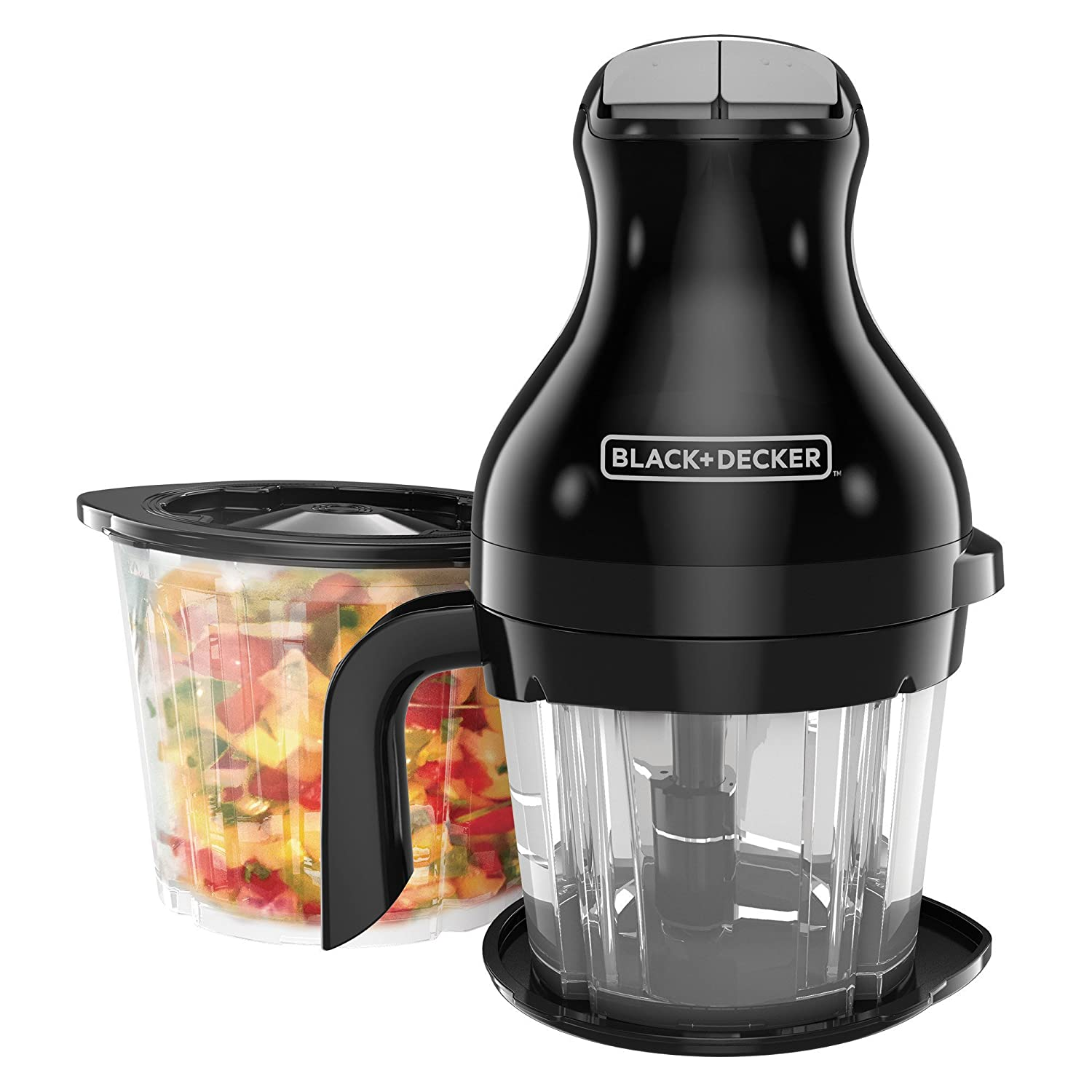 BLACK+DECKER Prep & Blend Multi-Chopper, Black, PS2000BD