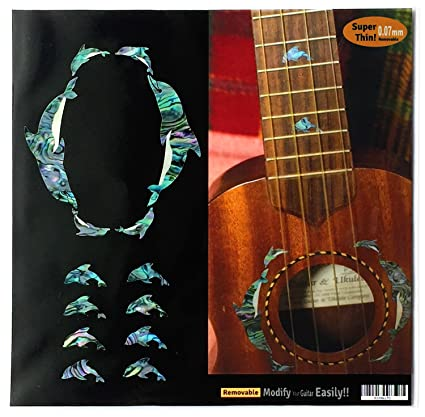 Guitar Parts & Accessories Removable Ukulele Fingerboard Note Map Sticker For Ukulele Decoration Part