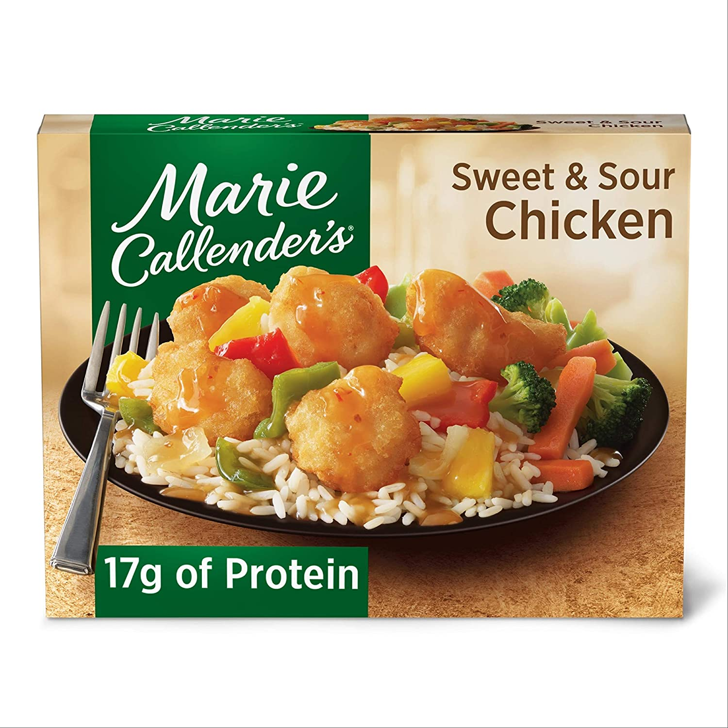 Marie Callender's Frozen Dinner, Sweet & Sour Chicken, 14 Ounce