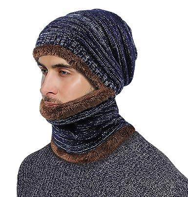 Tour de cou tricot homme