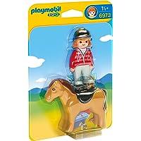 Playmobil 1.2.3. - 6973 - Cavalière avec cheval