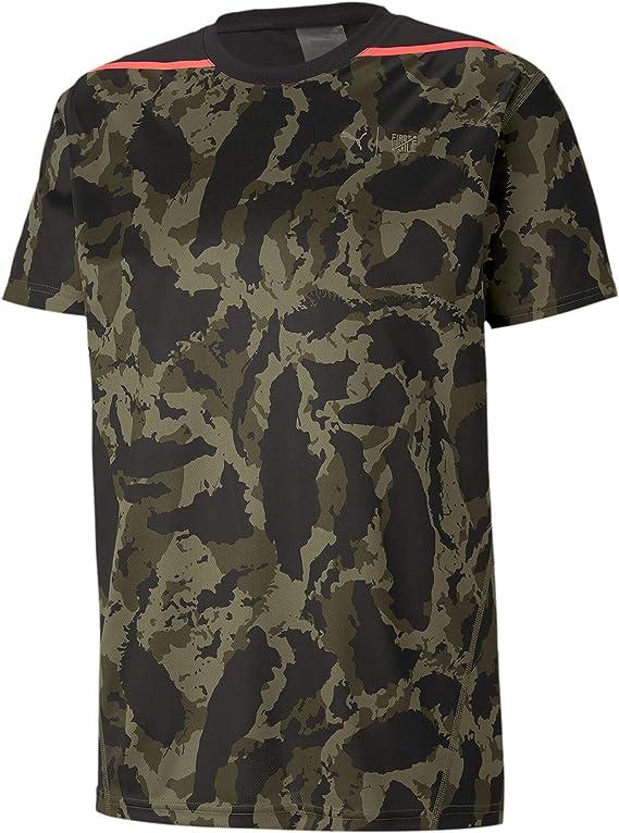 PUMA Herren T shirt First Mile Camo Tee: : Bekleidung