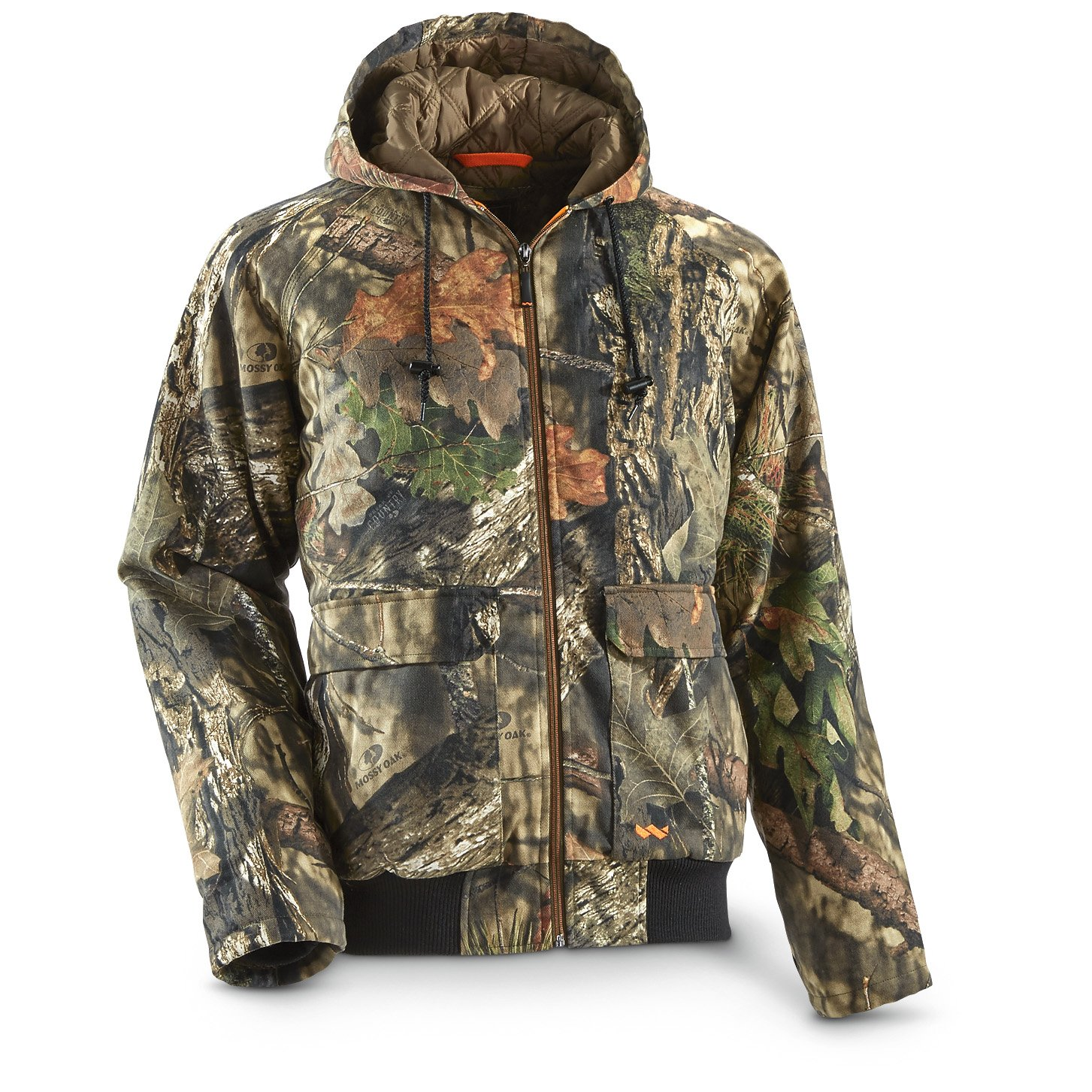ca8f0fdce2ef9 Amazon.com: Walls Men's Hunt Insulated Bomber Jacket, Mossy Oak Breakup  Country, L: Sports & Outdoors