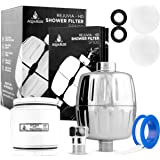 REJUVIA HD HEAVY DUTY High Output Shower Filter – Latest Superior Advanced 30x Filter Media - Universal Multi-Stage Shower He