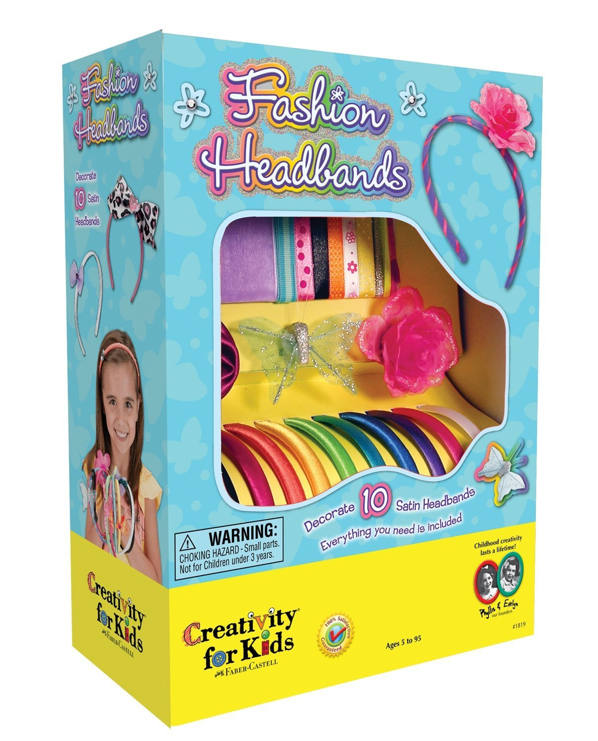 Creativity for Kids Fashion Headbands Craft Kit, Makes