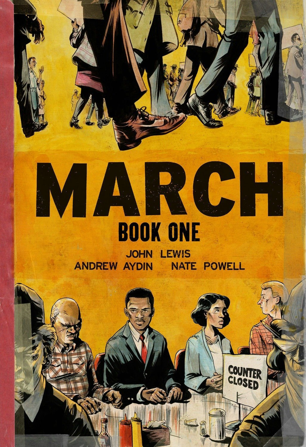 March: Book One: John Lewis, Andrew Aydin, Nate Powell: 9781603093002:  Amazon.com: Books