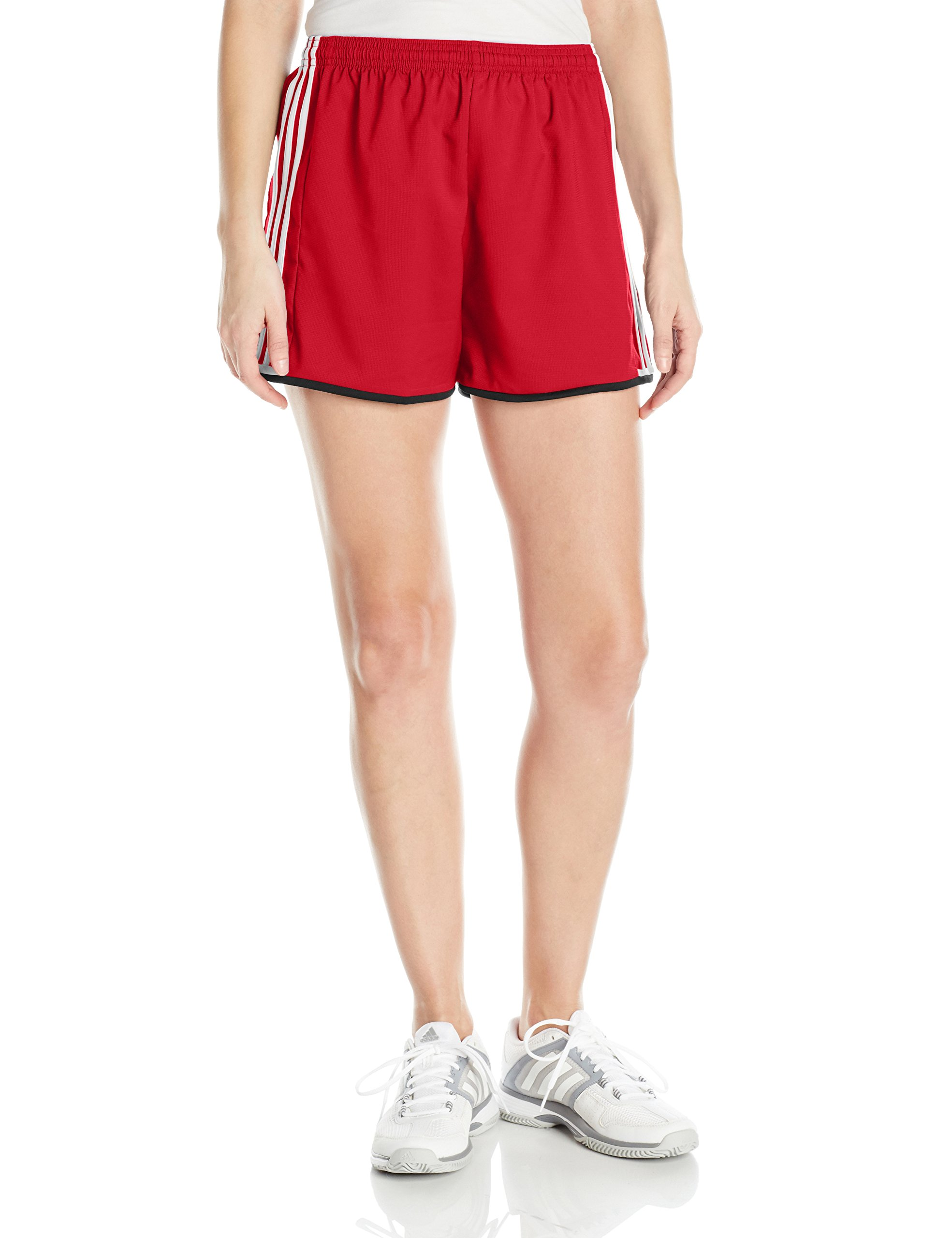 adidas Women's Soccer Condivo 16 Shorts, Power Red/White, X-Small