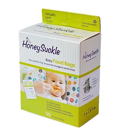 Honeysuckle Small Milk Storage/ Baby Food Bag 50ct.  sc 1 st  Amazon.com & Amazon.com : Honeysuckle Small Milk Storage/ Baby Food Bag 50ct. : Baby