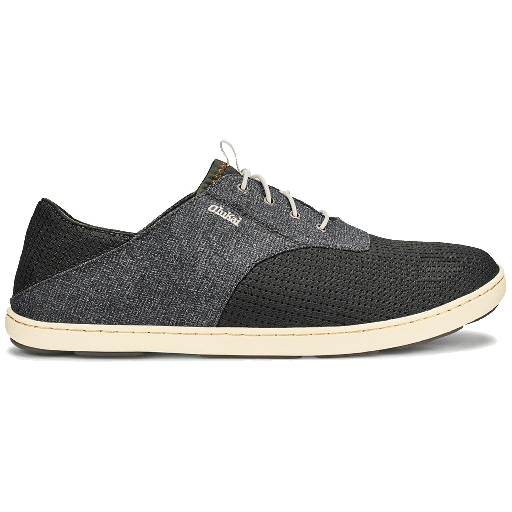 OLUKAI Men's Nohea Moku Shoes Dark Shadow/Dark Shadow 10