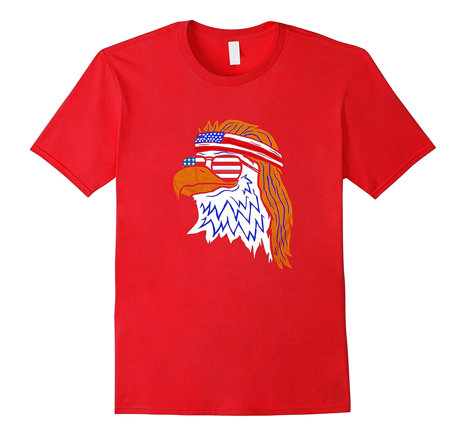 4th july American eagle flag- Independence Day 2017 t shirt-PL