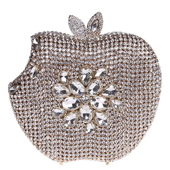 Amazon.com: fawziya Apple Monederos con Bling embrague con ...