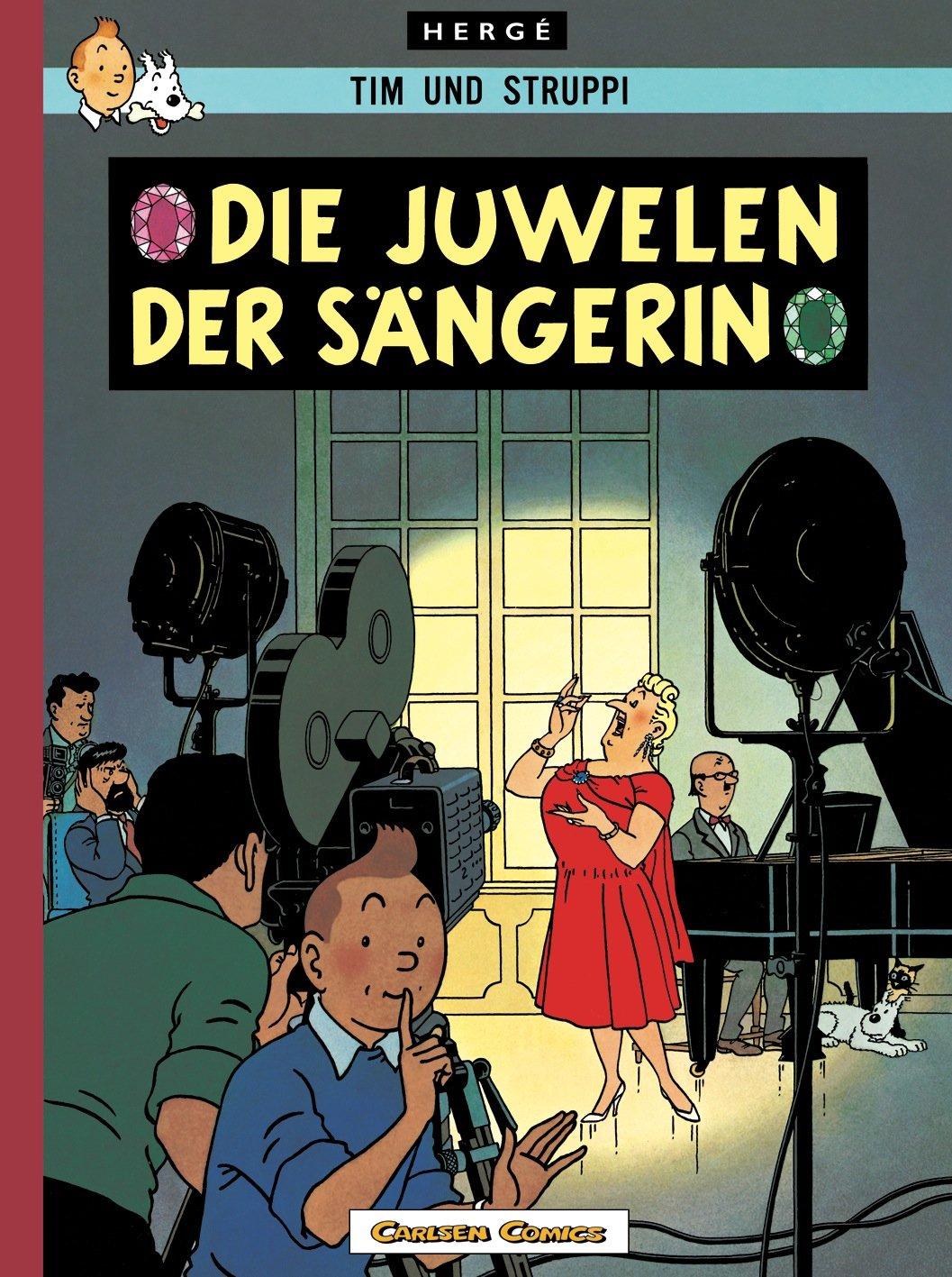 Tim & Struppi Farbfaksimile, Band 20: Die Juwelen der Sängerin Gebundenes Buch – 30. September 2011 Hergé Carlsen 3551738491 Comic