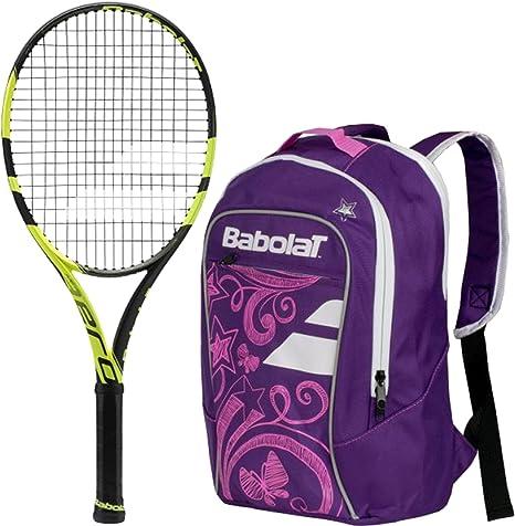 Sac à Dos Babolat Pure Aero Tennis NoirJaune Sacs et