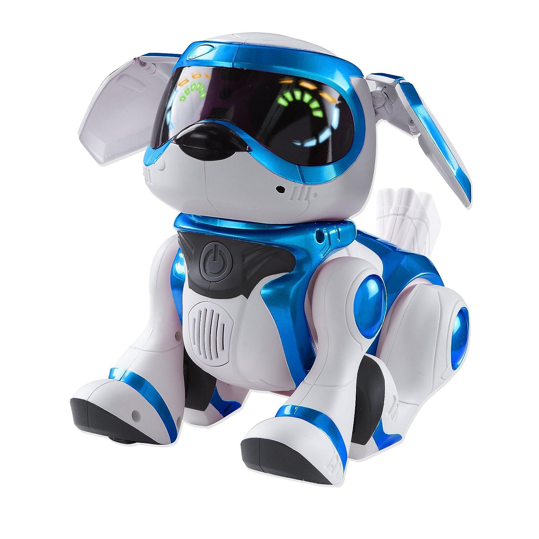 Amazon Teksta Robotic Puppy Blue by Bit 360 Toys & Games