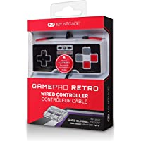 My Arcade GamePad Retro Wired Controller for NES and SNES Classic