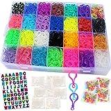 af98b229c Talented Kidz 11,750+ Rainbow Rubber Bands Refill Loom: Set w/10,750  Premium Quality