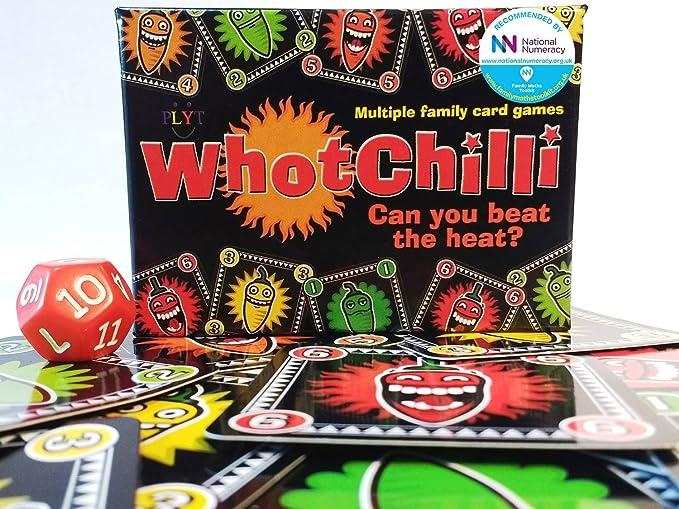 Whotchilli - Tarjetas con múltiples Juegos Familiares y más ...