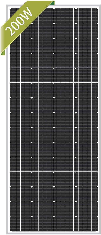 Newpowa 200W Monocrystalline 12V Solar Panel