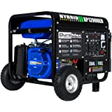 DuroMax XP12000EH Generator-12000 Watt Gas or Propane Powered Home Back Up & RV Ready, 50 State Approved Dual Fuel Electric S