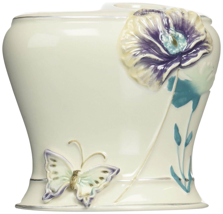 Lilac GGT60LIL Creative Bath Garden Gate Ceramic Tooth Brush Holder
