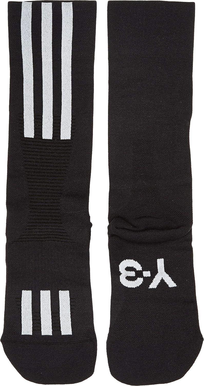 f75b8ee0b6780 Amazon.com  adidas Y-3 by Yohji Yamamoto Unisex Y-3 Tech Sock Black White  SM (US Men s 4.5-6.5