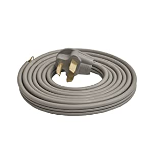 ALEKO WDC3W30A10 ETL 10-Foot Heavy Duty 3-Wire Dryer Cord, 30A