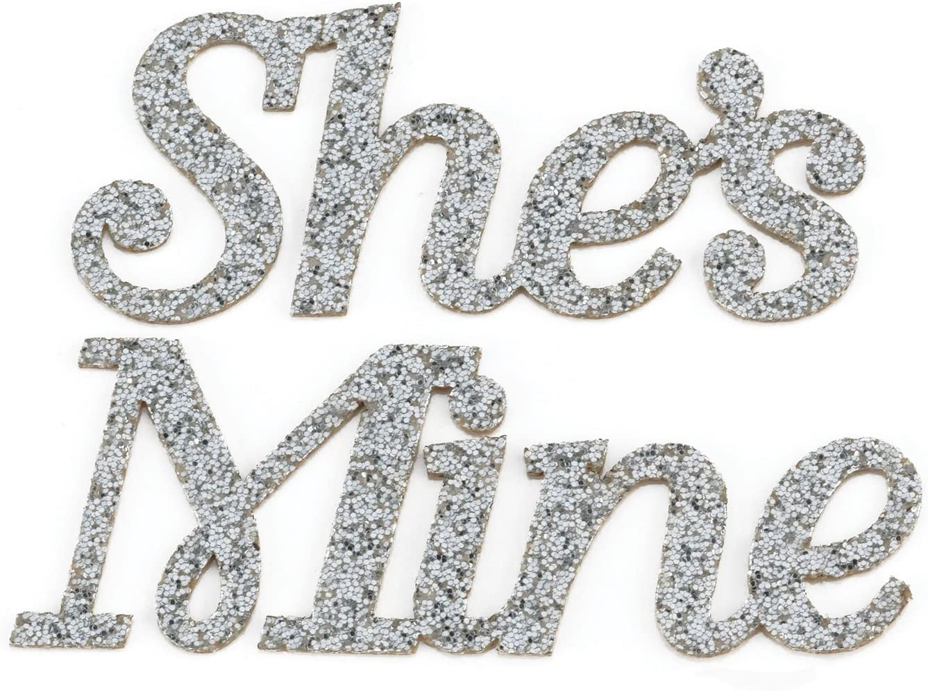 Lillian Rose Shes Mine Groom Wedding Shoe Stickers