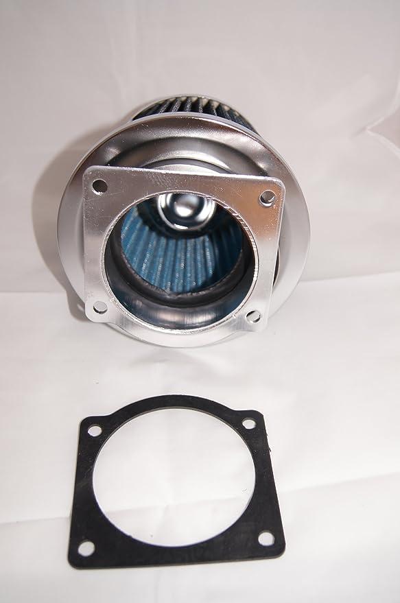 RED Air Intake Filter MAF Sensor Adapter W//screws For 01-07 Ford Escape 3.0 V6
